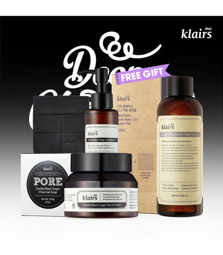 KLAIRS Deep Cleansing Package