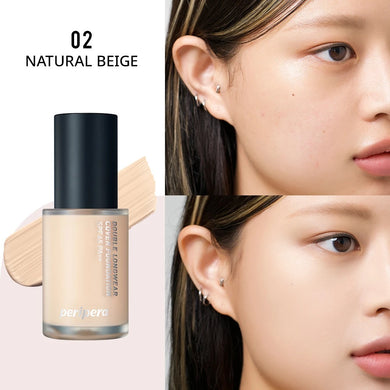 PERIPERA Double Longwear Cover Foundation 35g #02 Natural Beige