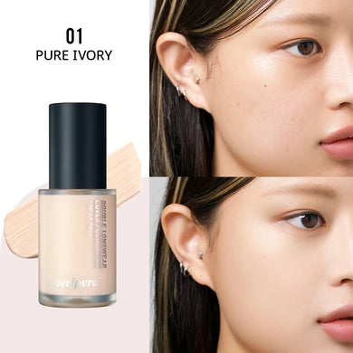 PERIPERA Double Longwear Cover Foundation 35g #01 Pure Ivory