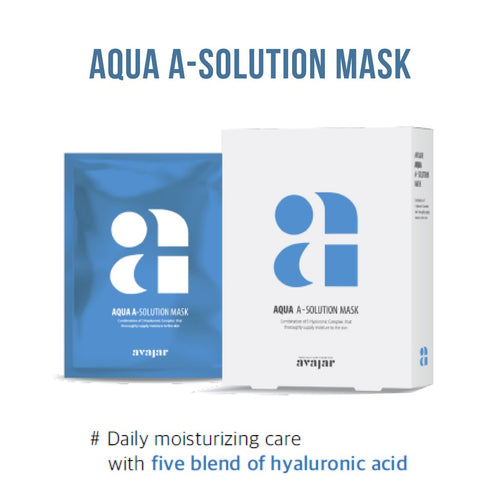 avajar - A-Solution Mask Aqua 1EA