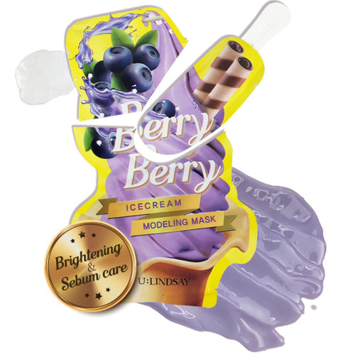 U:Lindsay Berry Berry Ice Cream Modeling Mask 5EA