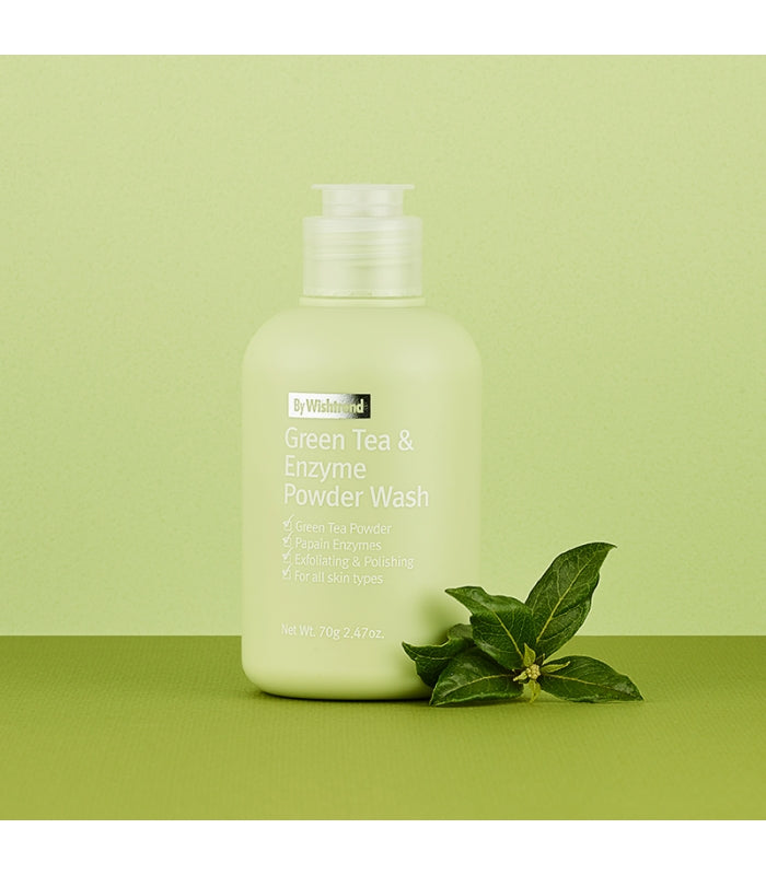By Wishtrend Green Tea Enzyme Powder Wash 30ml