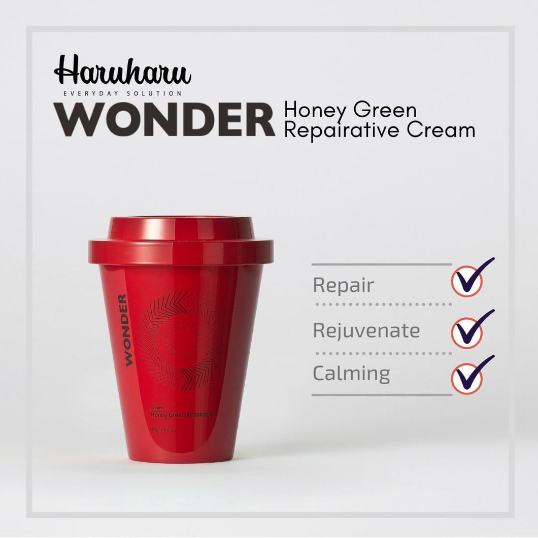 Haruharu WONDER Honey Green Rapairative Cream 100g