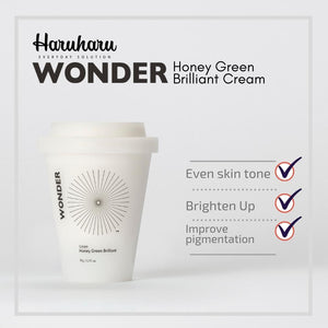 Haruharu WONDER Honey Green Brilliant Cream 100g
