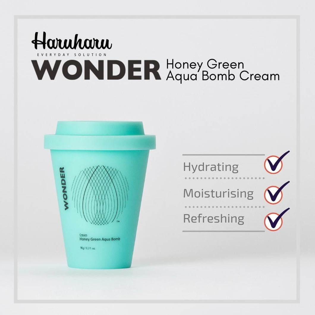 Haruharu WONDER Honey Green Aqua Bomb Cream 100g