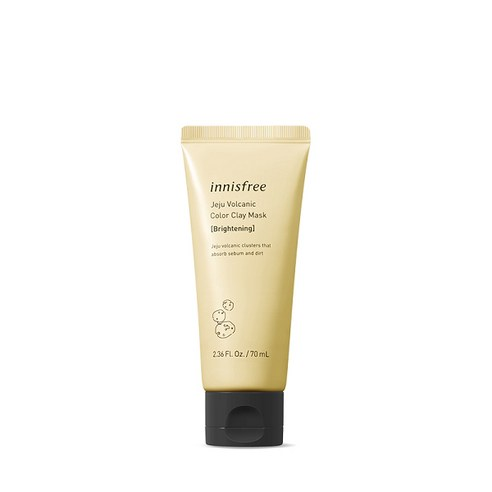 Innisfree Jeju Volcanic Color Clay Mask 70ml #Brightening