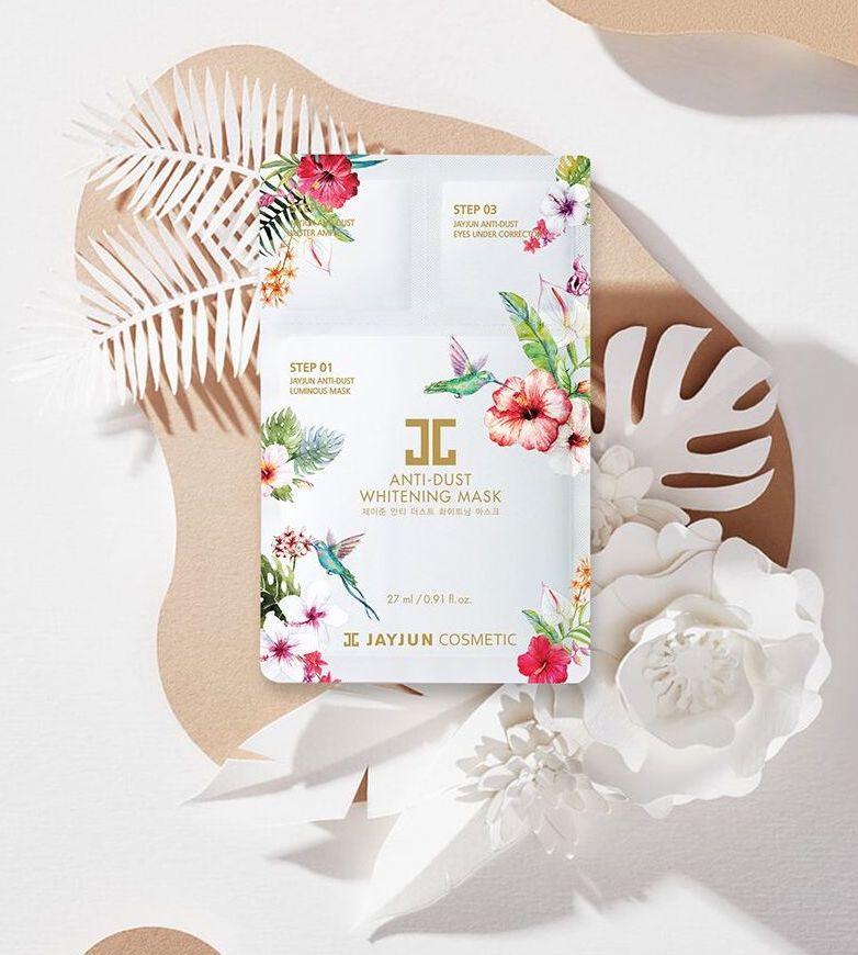 JAYJUN Anti-Dust Whitening Mask 10ea