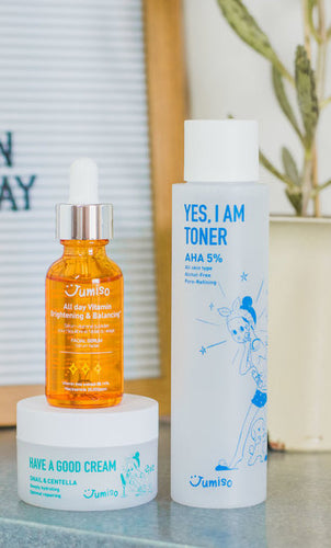 Jumiso All Day Glow Routine