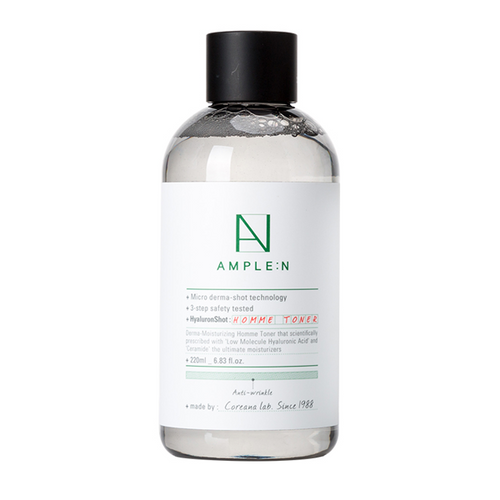 AMPLE:N Hyaluron Shot Homme Toner 220ml [20211211]