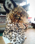 Jaguar Fursuit Head Pre-Made