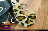 Leopard Tail Keychain Furry Fursuit Bag Charm