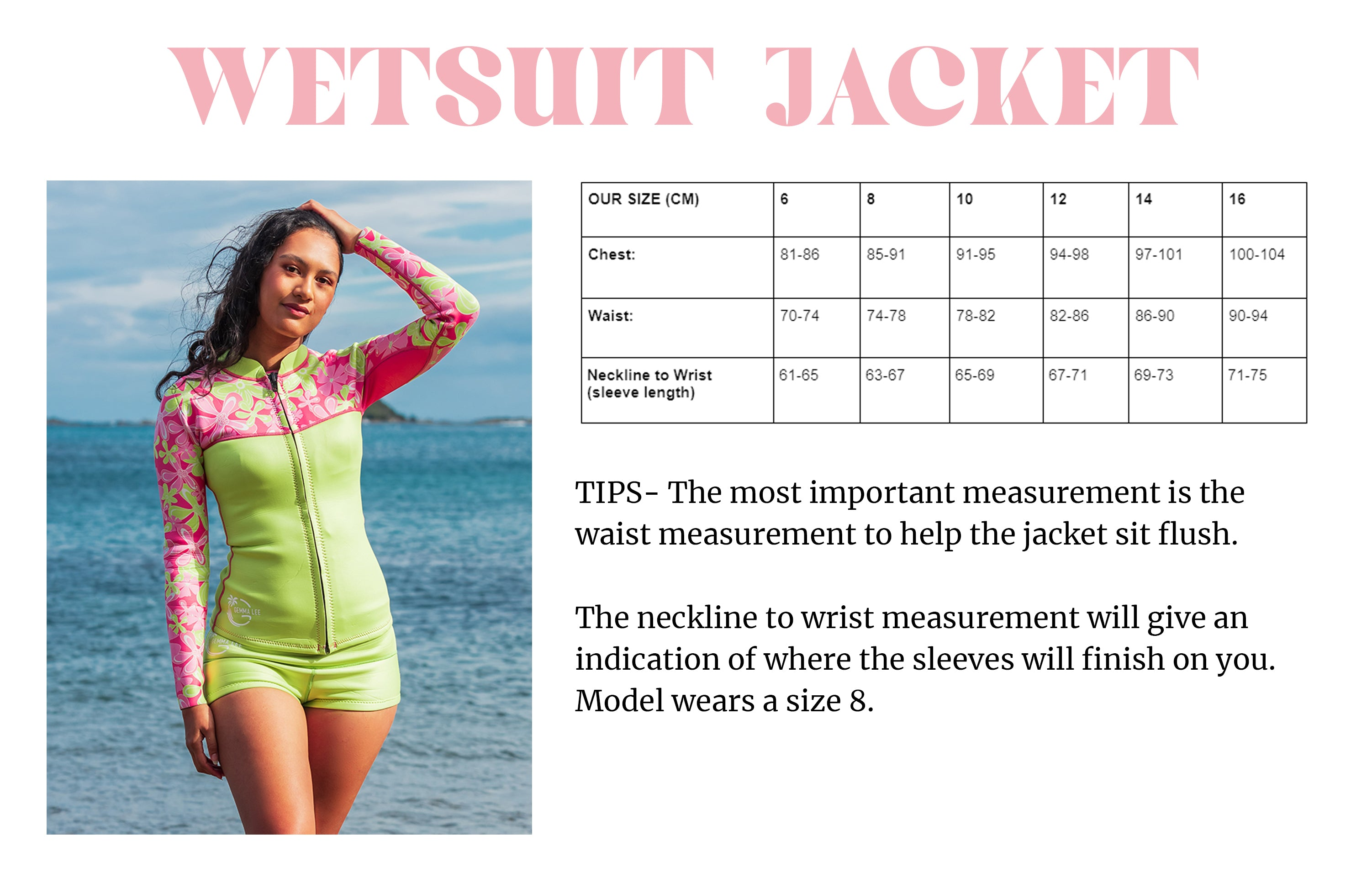 womens_wetsuit_jacket_size_guide