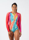 Retro Tides 2mm Springsuit