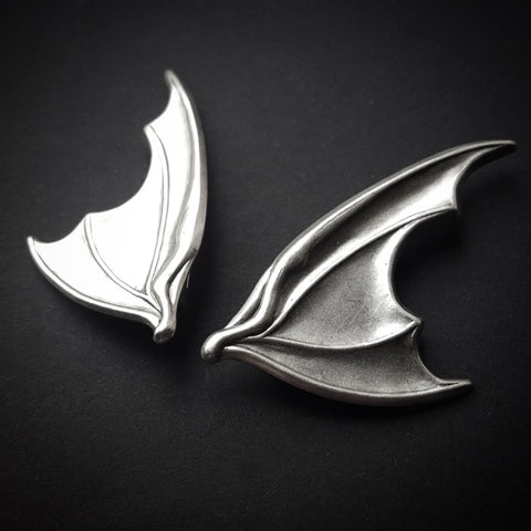 Bat Wing Hair Slides