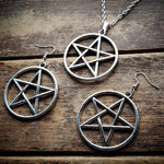 Large Pentagram Pendant Necklace