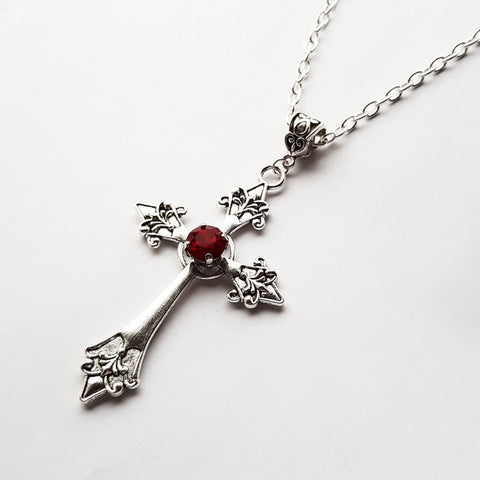 'Dracul' Pendant Necklace (Colour Options)