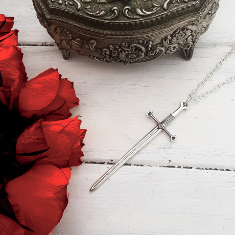 Sword Pendant Necklace