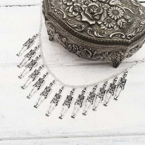 'Skeleton Army' Necklace