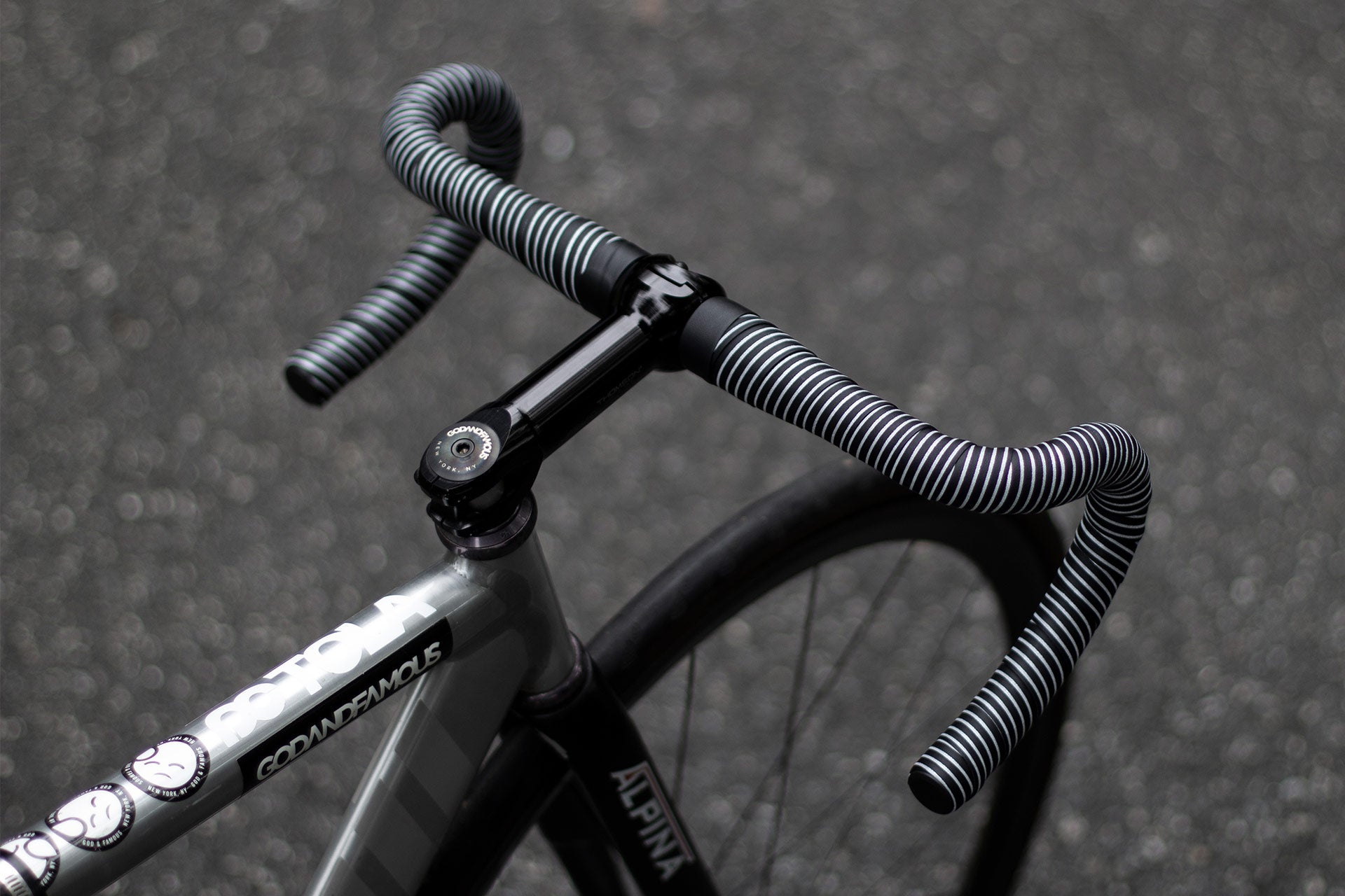 God and Famous Faux Pas Reflective Bar Tape Lookbook