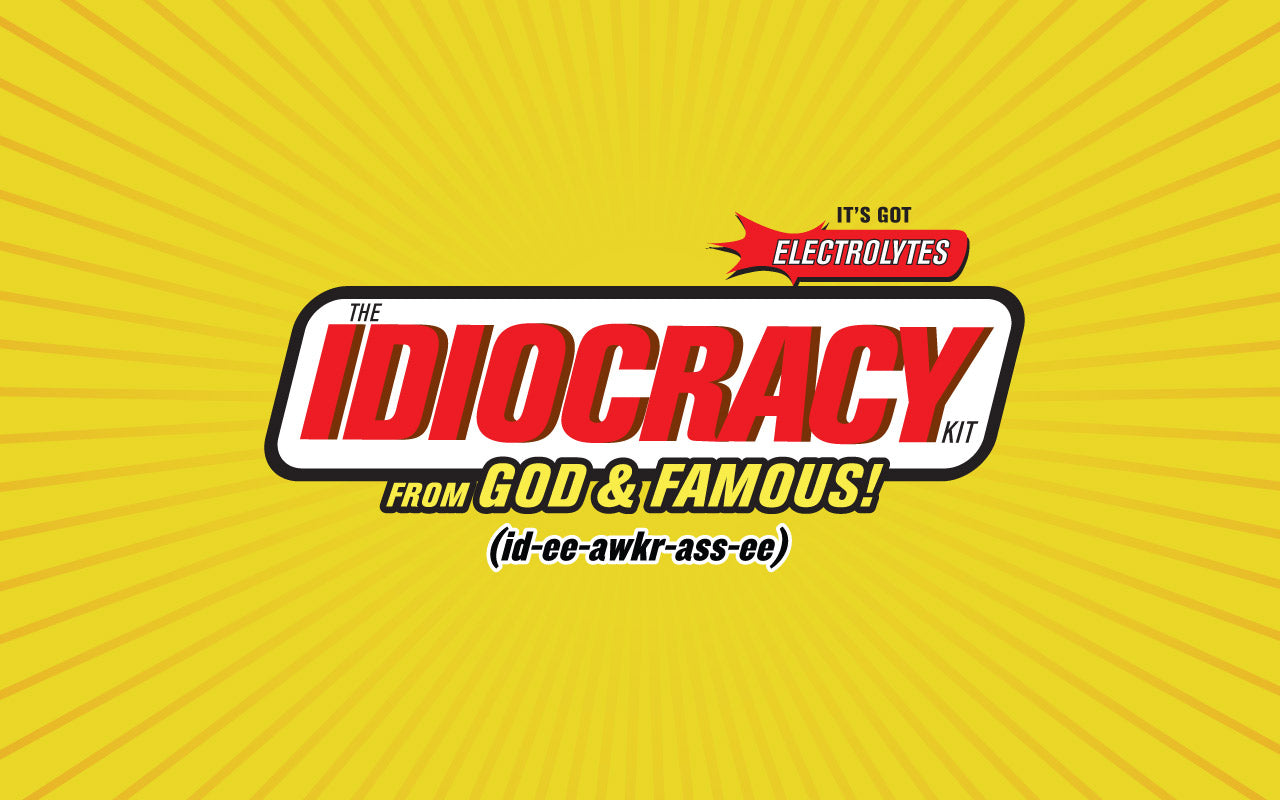 God and Famous Idiocracy Lookbook