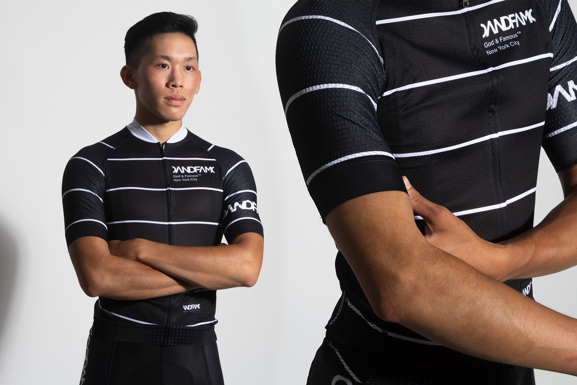 God and Famous Rules Black Jersey