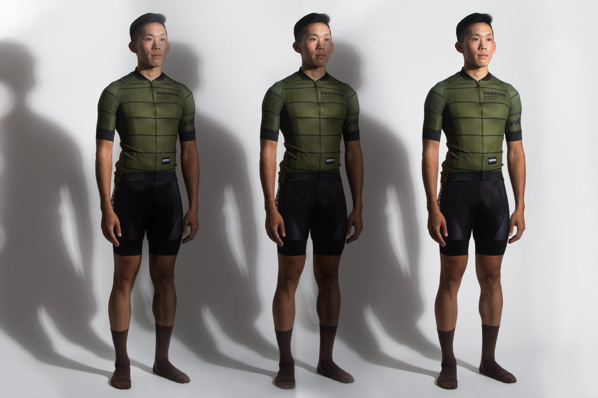 God and Famous Rules Olive Jersey