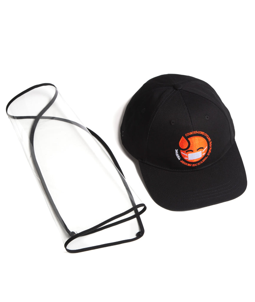 God and Famous CCC 6-Panel Shield Hat