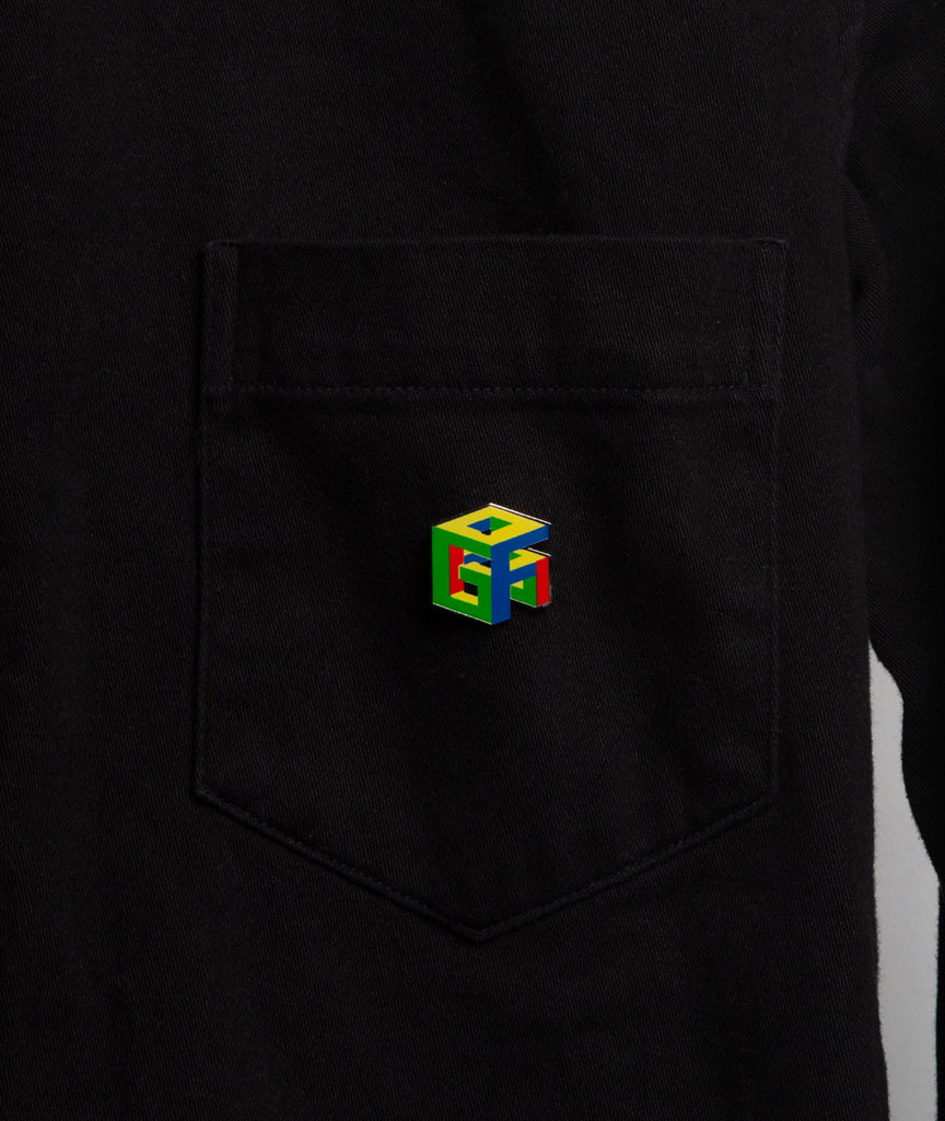 God and Famous G64 Enamel Pin