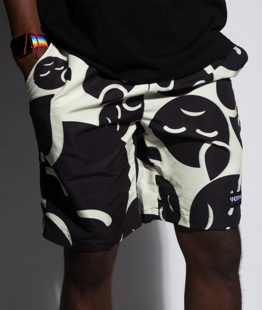 God and Famous Paincave AR Shorts