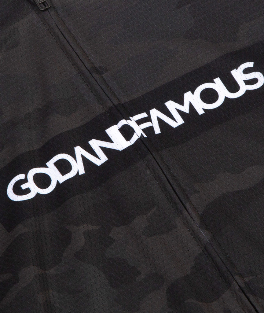 God and Famous LS Jersey - Black Camo
