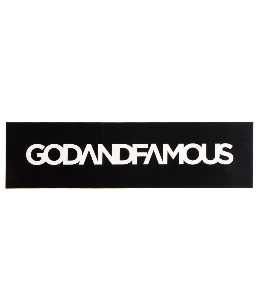 God and Famous Bumper Sticker
