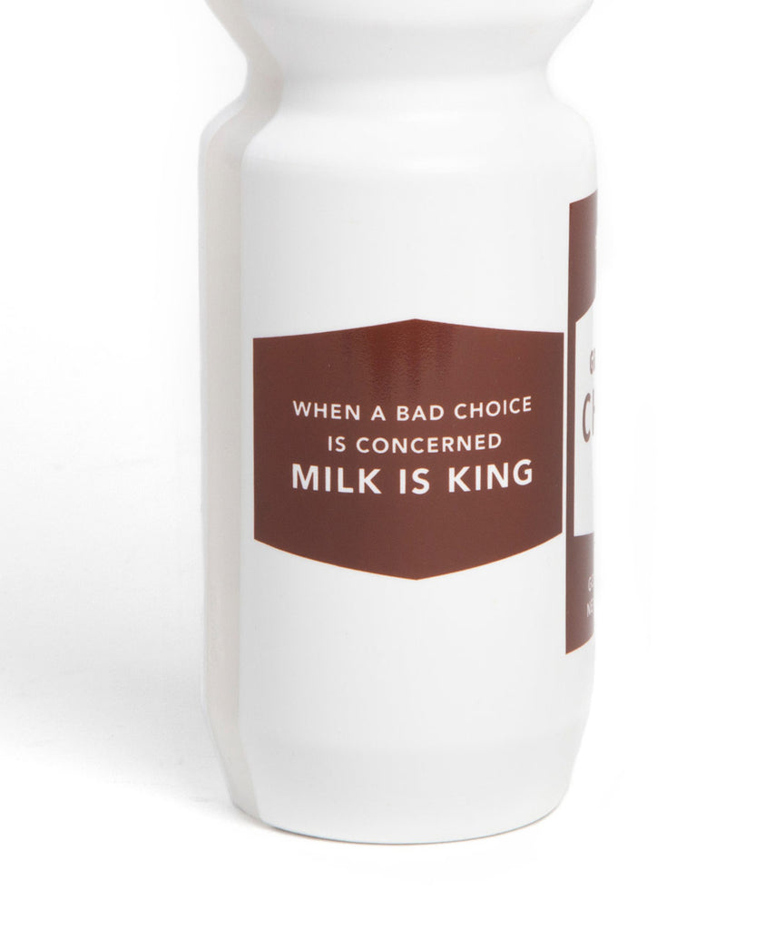 God and Famous Chocolate Milk Water Bottle