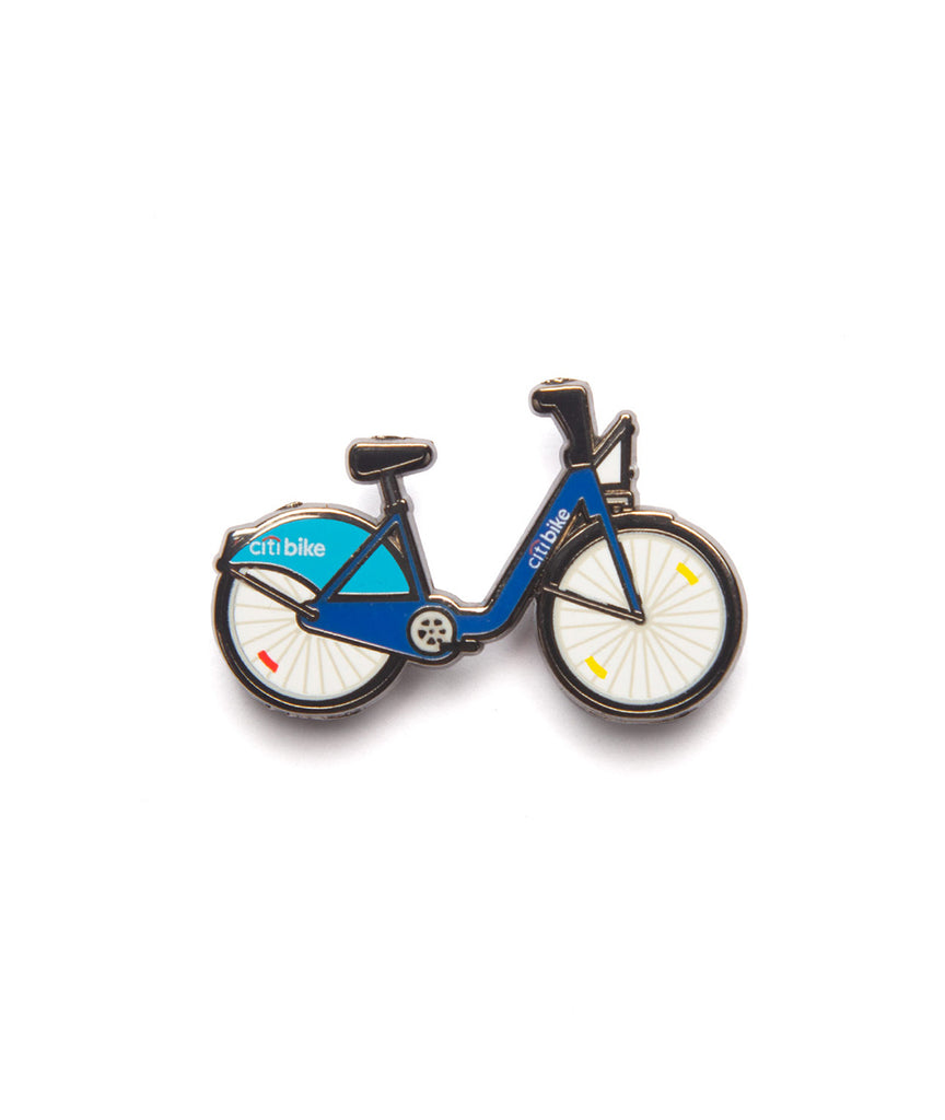 God and Famous CitiBike Enamel Pin