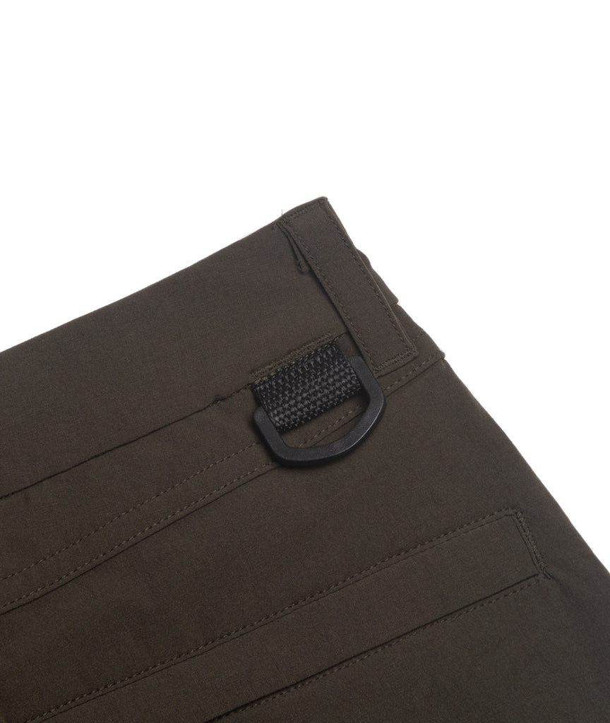 God and Famous Commuter Shorts Army Green