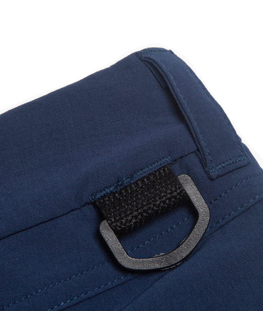 God and Famous Commuter Shorts - Blue