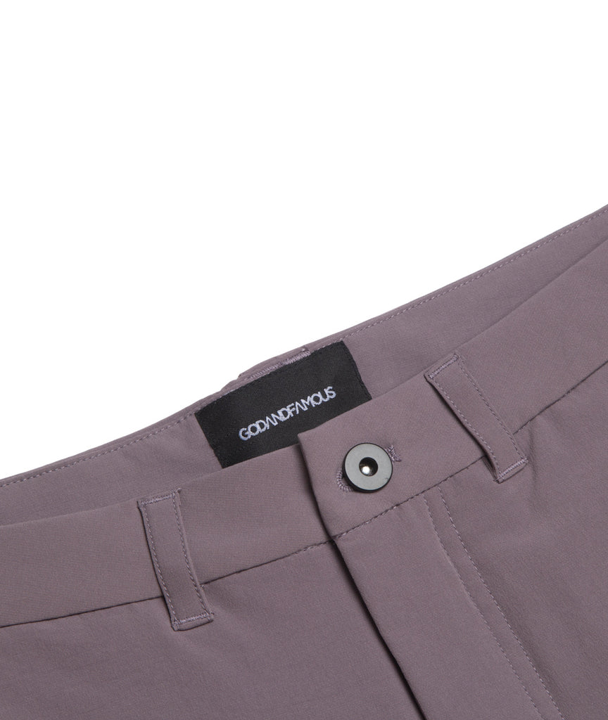 God and Famous Commuter Shorts Faded Purple