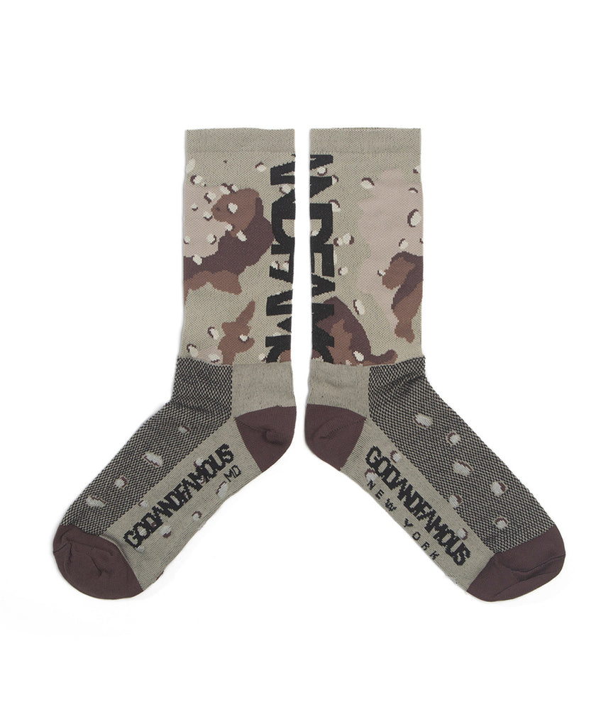 God and Famous Dirt Church Sock