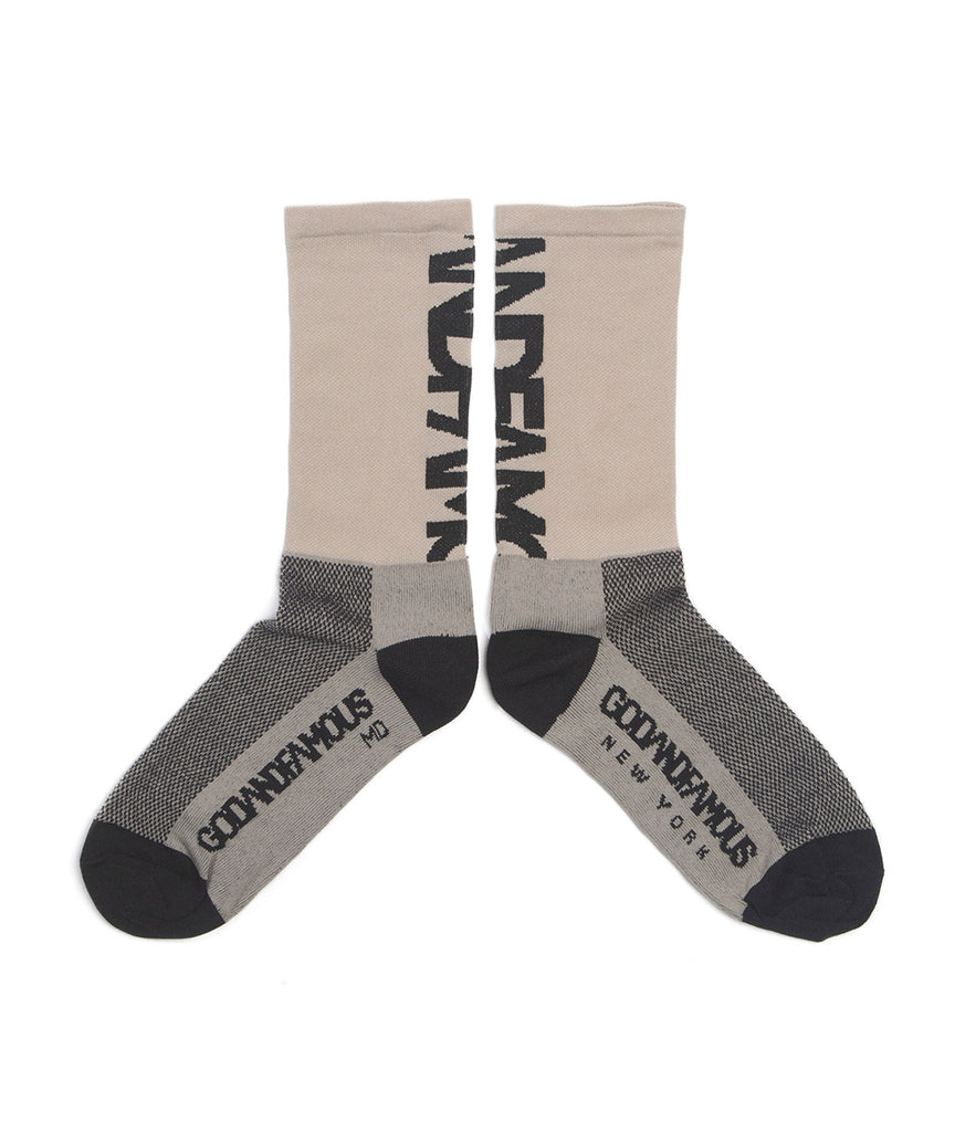 God and Famous Team Sock - Khaki