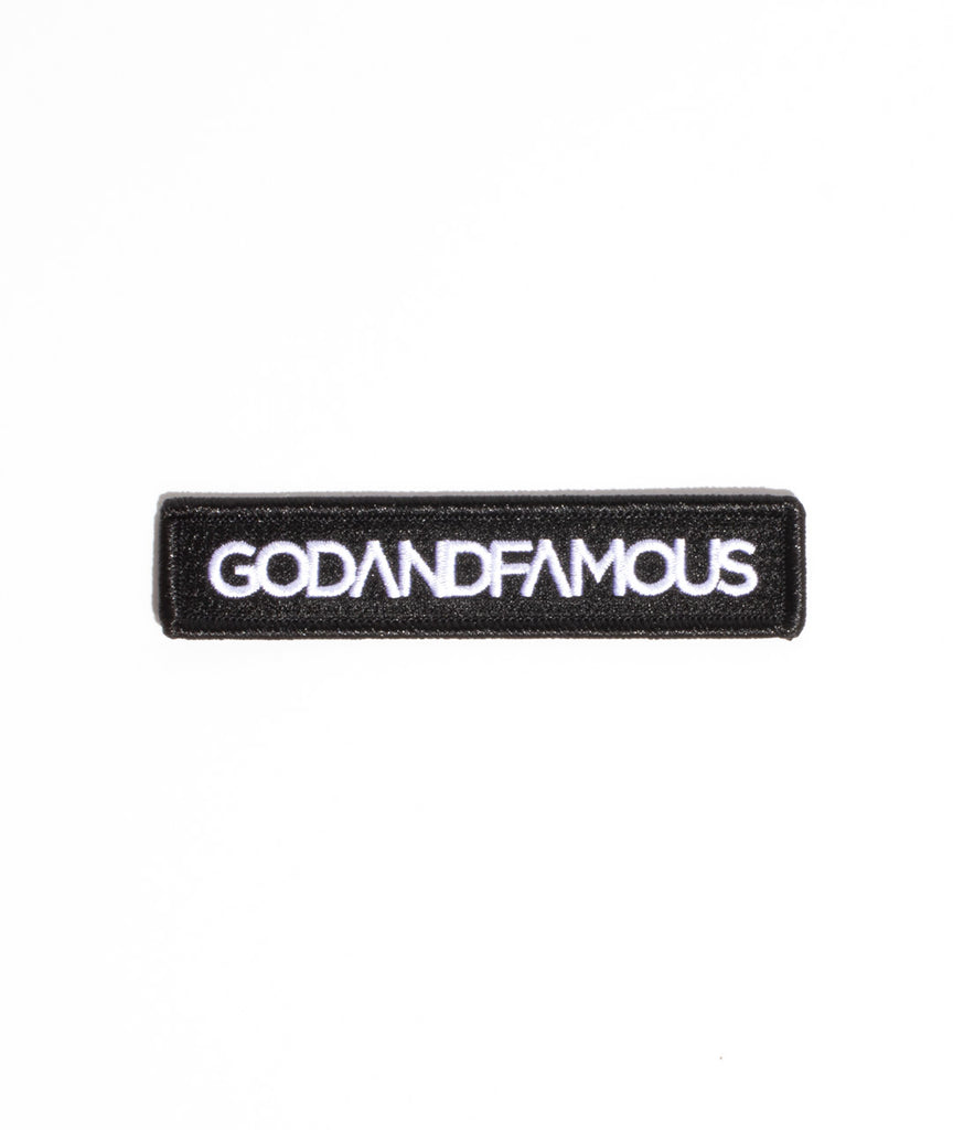 God and Famous Livery Badge Patch