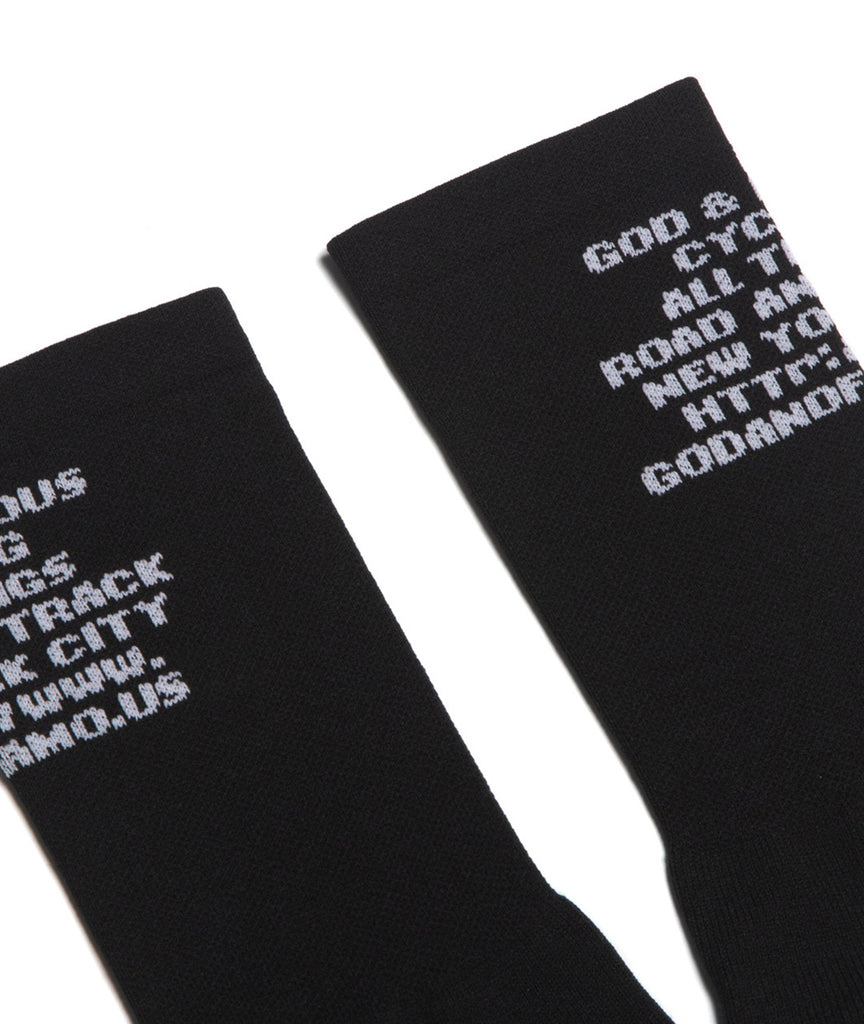 God and Famous Mantra Sock