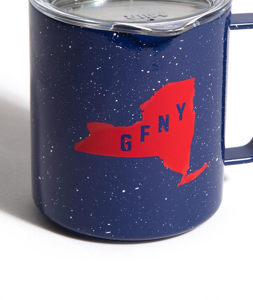 God and Famous MiiR Speckled Camp Cup