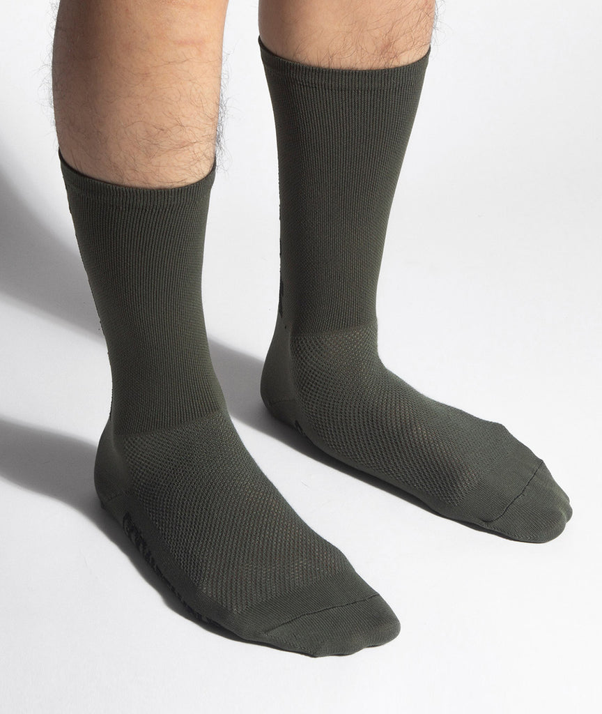 God and Famous Team Sock - Olive Drab