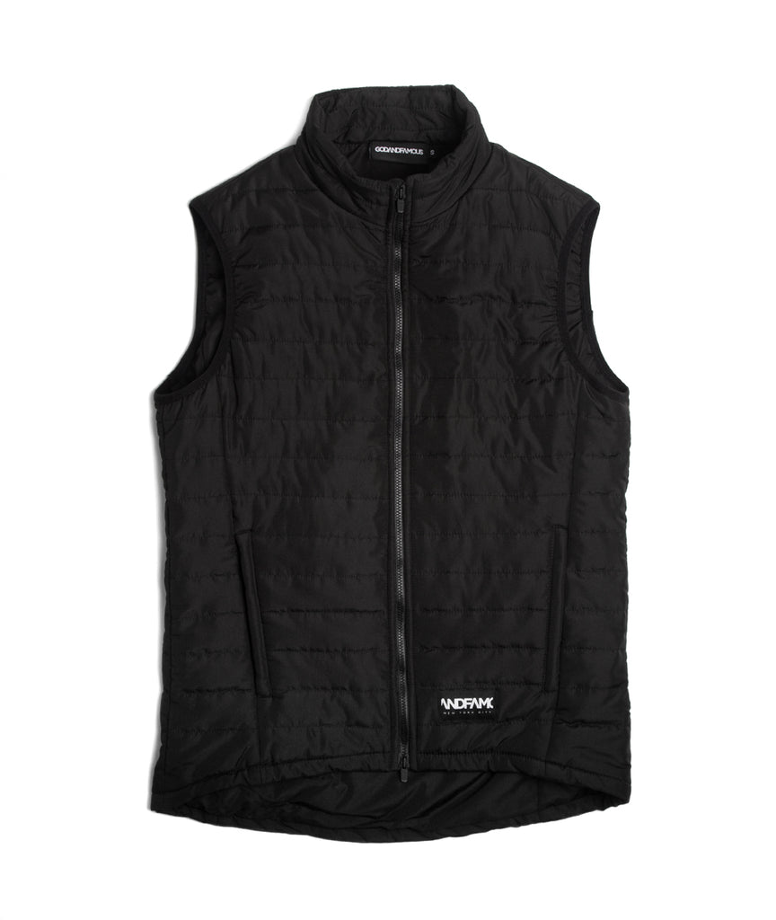 God and Famous Low Key Puffy Vest