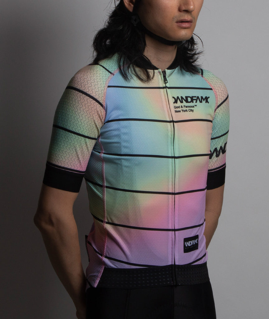 God and Famous Rules Jersey Aurora Borealis