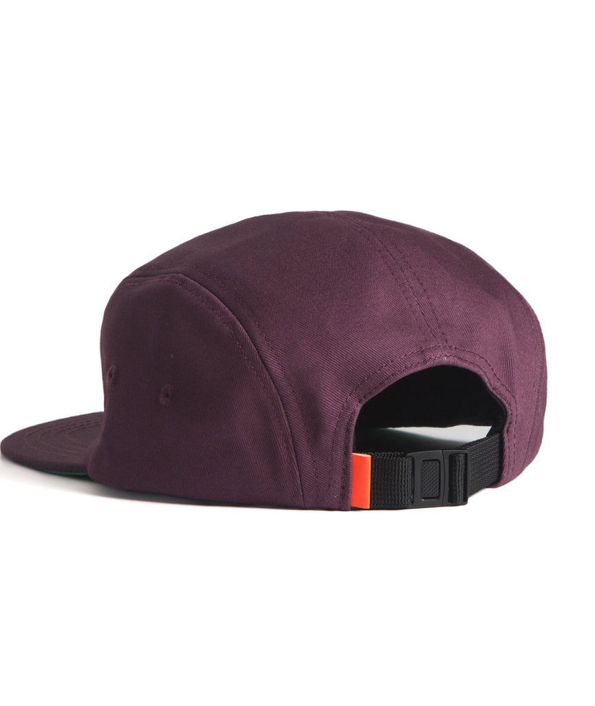 God and Famous 5-Panel Hat - Purple