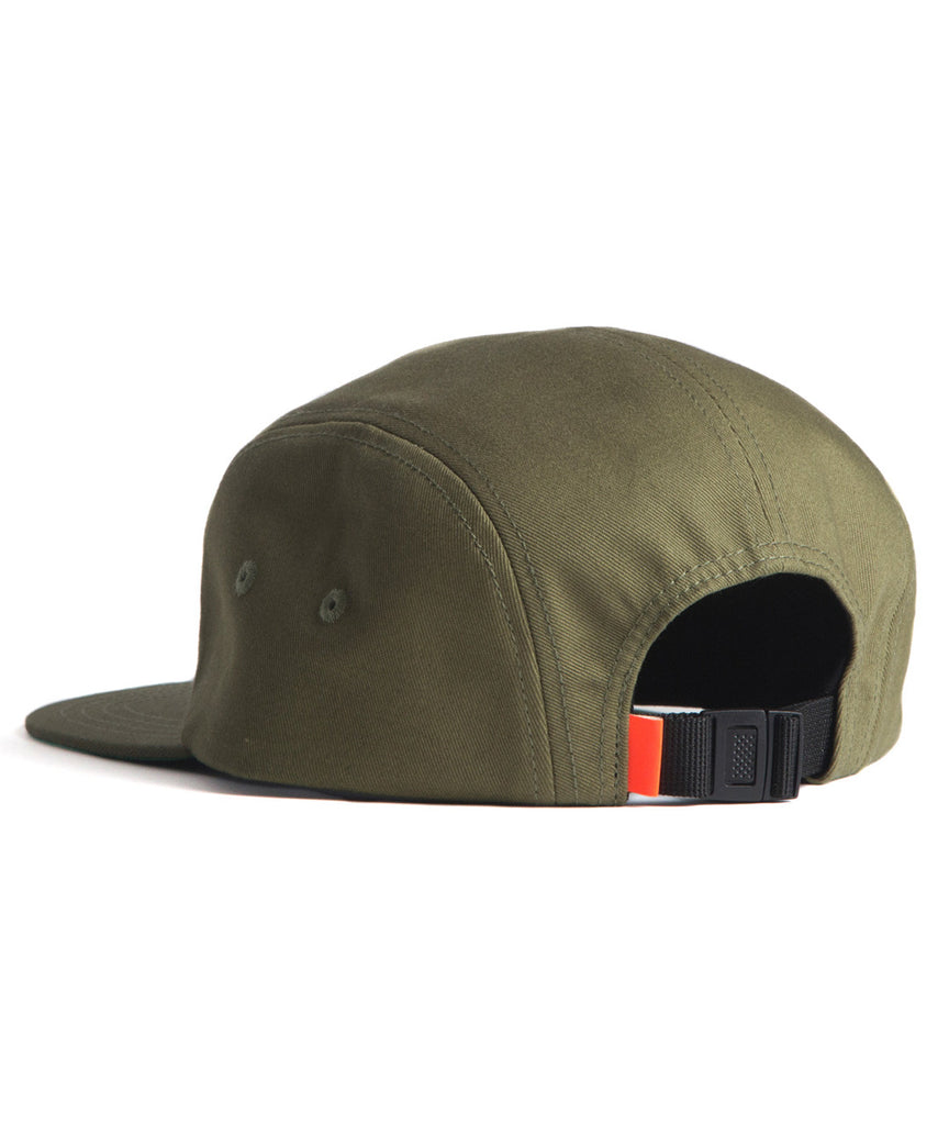 God and Famous 5-Panel Hat - Olive