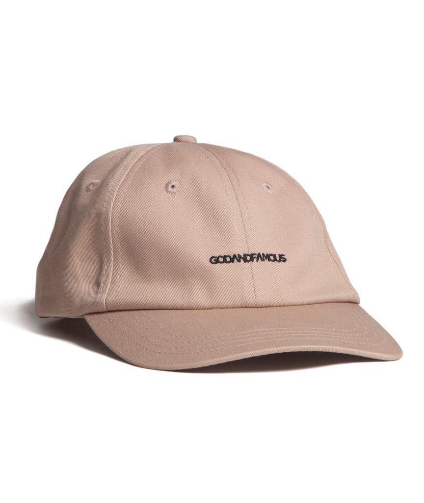 God and Famous Team 6-Panel Hat Sand