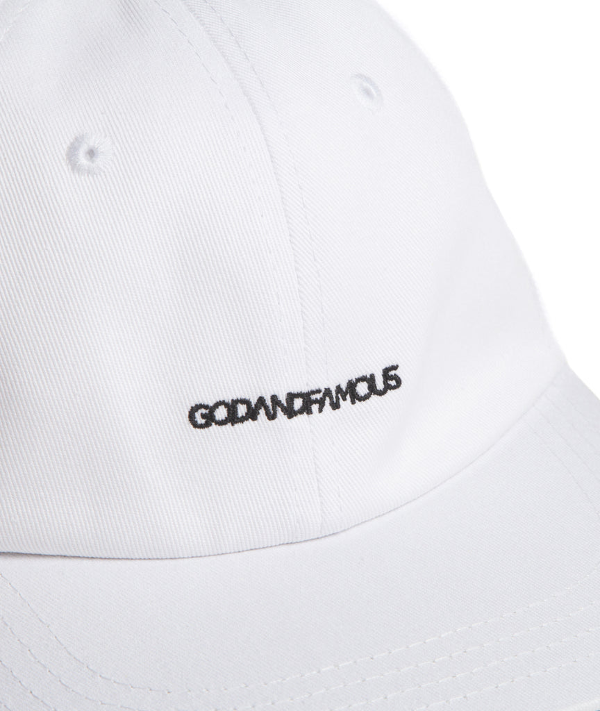 God and Famous 6-Panel Hat White