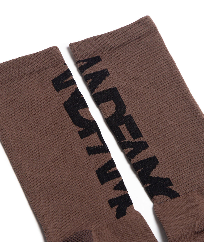 God and Famous Team Sock - Brown