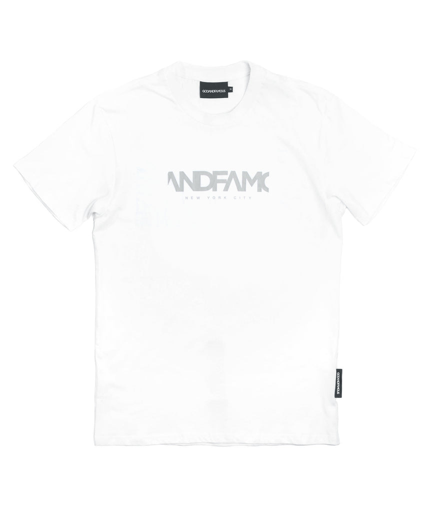 God and Famous Team T-Shirt White